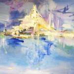 Matterhorn Olieverf op linnen 160/120 cm