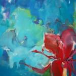 Passion  Acryl op linnen 160/120 cm