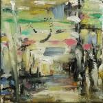 Colours in my mind | Olieverf op doek 20/20 cm