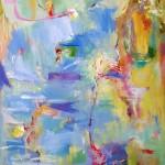 Maria Olieverf op linnen 70/100 cm