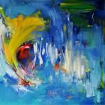 Peace & Passion  Olieverf op linnen 80/80 cm
